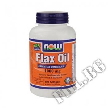 Действие на Flax Oil 1000 мг - 100 дражета мнения.Най-ниска цена от Fhl.bg-хранителни добавки София