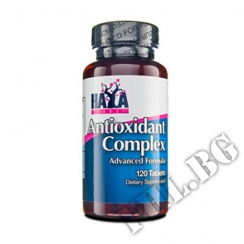Съдържание » Цена » Прием » Antioxidant Complex 120 Tabs.