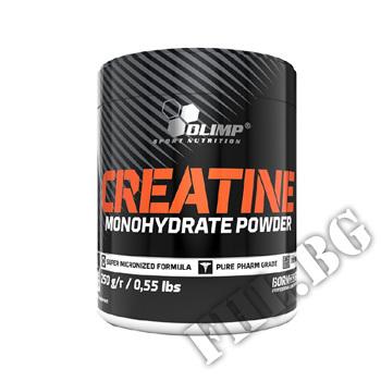 Действие на Creatine Monohydrate Powder 250 gr мнения.Най-ниска цена от Fhl.bg-хранителни добавки София
