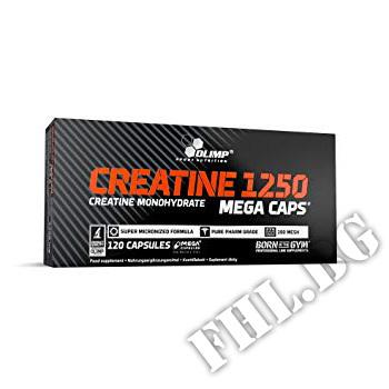 Съдържание » Цена » Прием »  Creatine Mega Caps 1250 mg. / 120 Caps.