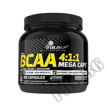 Действие на BCAA Mega Caps 1100mg. / 300 Caps. мнения.Най-ниска цена от Fhl.bg-хранителни добавки София