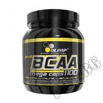Съдържание » Цена » Прием » BCAA Mega Caps 1100mg. / 300 Caps.