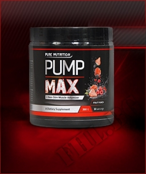 Действие на PUMP MAX-Fruit Punch мнения.Най-ниска цена от Fhl.bg-хранителни добавки София