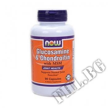 Действие на  Glucosamine/ Chondroitin/ MSM 90 caps мнения.Най-ниска цена от Fhl.bg-хранителни добавки София