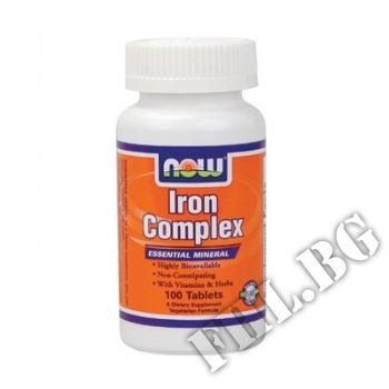 Съдържание » Цена » Прием »  Iron Complex | Желязо