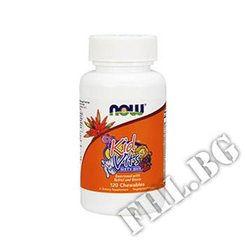 Съдържание » Цена » Прием » Kid Vitamins портокал - 120 таблетки