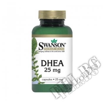 Съдържание » Цена » Прием » DHEA 25mg 120caps