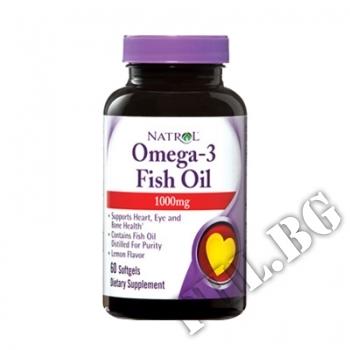 Действие на Omega-3 Fish Oil 60 caps мнения.Най-ниска цена от Fhl.bg-хранителни добавки София
