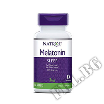 Съдържание » Цена » Прием » Melatonin 3 mg 60 tabs