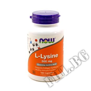 Съдържание » Цена » Прием » L-Lysine 500 мг 100 таб