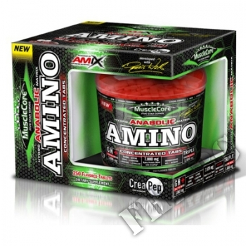 Съдържание » Цена » Прием » Anabolic Amino with CreaPep 250 Tabs.