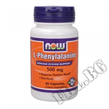 Действие на L-Phenylalanine 500 mg 60 caps мнения.Най-ниска цена от Fhl.bg-хранителни добавки София