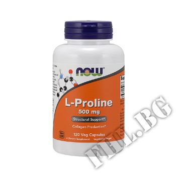 Съдържание » Цена » Прием » L-Proline 500 мг -ПРОЛИН