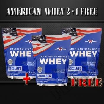 Действие на American Standard Whey 5lbs-2+1 free мнения.Най-ниска цена от Fhl.bg-хранителни добавки София