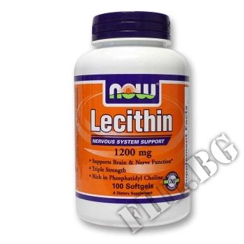 Действие на Lecithin 1200 мг - 100 дражета мнения.Най-ниска цена от Fhl.bg-хранителни добавки София