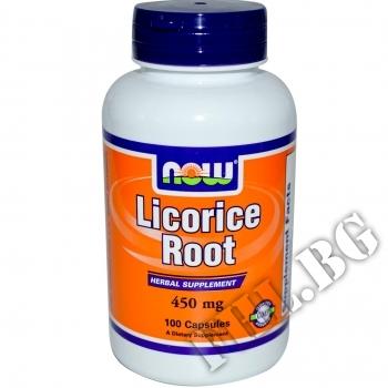 Действие на Licorice Root 450 mg мнения.Най-ниска цена от Fhl.bg-хранителни добавки София