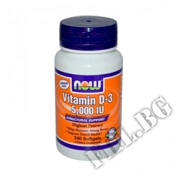 Съдържание » Цена » Прием »  Vitamin D-3 5000 IU 240 softgels
