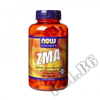 Съдържание » Цена » Прием » ZMA 800 мг - 90 капсули