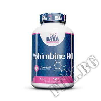 Съдържание » Цена » Прием » Yohimbine HCL 2.5 mg
