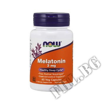 Съдържание » Цена » Прием » Melatonin 3 мг - 60 капсули