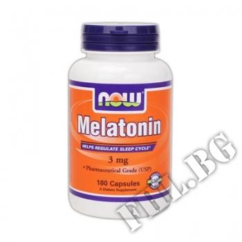 Действие на Melatonin 3 мг - 60 капсули мнения.Най-ниска цена от Fhl.bg-хранителни добавки София