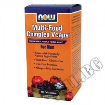 Съдържание » Цена » Прием » Multi-Food Complex for Men - 80 таблетки