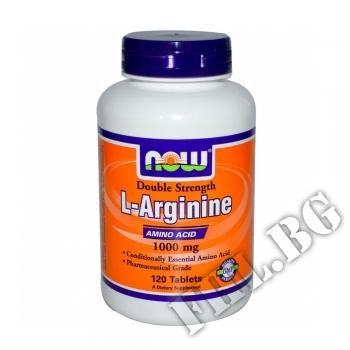 Съдържание » Цена » Прием » Arginine 1000 мг - 120 таблетки