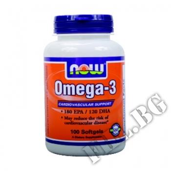 Съдържание » Цена » Прием »  Omega 3 1000 мг - 100 дражета