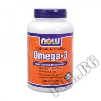 Съдържание » Цена » Прием »  Omega 3 1000 мг - 200 дражета