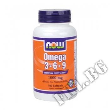 Действие на  Omega 3-6-9 1000 мг - 100 дражета мнения.Най-ниска цена от Fhl.bg-хранителни добавки София