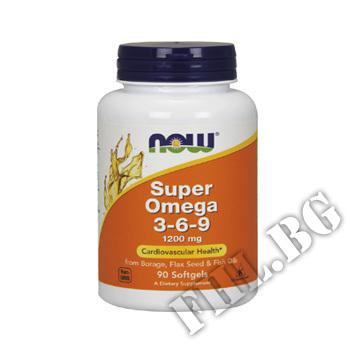 Съдържание » Цена » Прием » Omega 3-6-9 1200 мг
