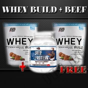 Действие на Еverbuild whey build 5lbs-2+Beef protein мнения.Най-ниска цена от Fhl.bg-хранителни добавки София