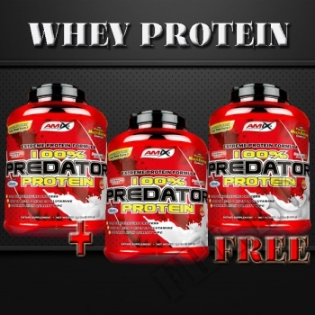 Действие на 100% Predator Protein 2+1 мнения.Най-ниска цена от Fhl.bg-хранителни добавки София