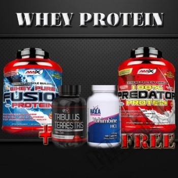 Съдържание » Цена » Прием » 100% Predator Protein + Whey Pure Fusion