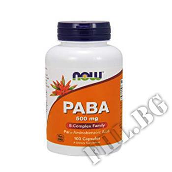 Съдържание » Цена » Прием »  PABA 500 мг