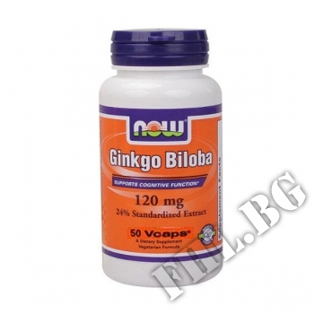 Действие на Ginkgo biloba 120 mg - 50 мнения.Най-ниска цена от Fhl.bg-хранителни добавки София