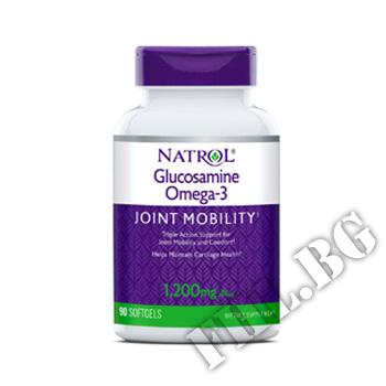 Действие на Glucosamine Omega-3 90 softgels мнения.Най-ниска цена от Fhl.bg-хранителни добавки София