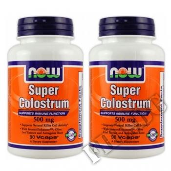 Съдържание » Цена » Прием » 2 x Super Colostrum 180-500mg