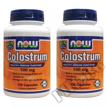 Действие на 2 x Colostrum NF 500 мнения.Най-ниска цена от Fhl.bg-хранителни добавки София