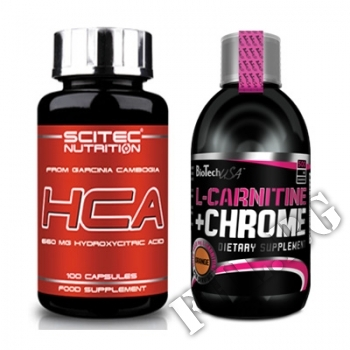 Съдържание » Цена » Прием » Garcinia Cambogia HCA-100 caps-L-Carnitine Liquid with…