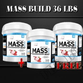 Действие на Mass Build 36lbs мнения.Най-ниска цена от Fhl.bg-хранителни добавки София