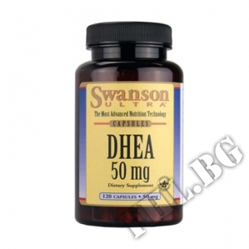 Съдържание » Цена » Прием » DHEA 50mg 120caps Sw
