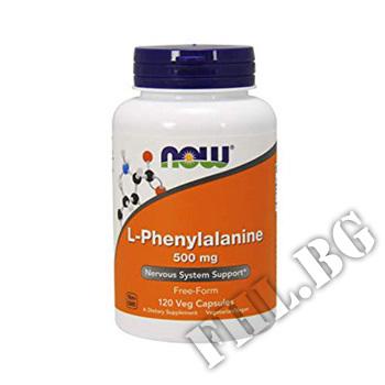 Съдържание » Цена » Прием » L-Phenylalanine 500 mg 120 caps