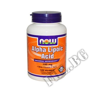 Съдържание » Цена » Прием » Alpha Lipoic Acid 100mg 120caps