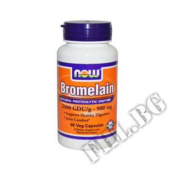 Съдържание » Цена » Прием »  Bromelain 500 mg