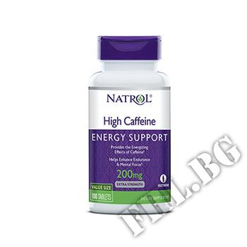 Съдържание » Цена » Прием » High Caffeine 200mg