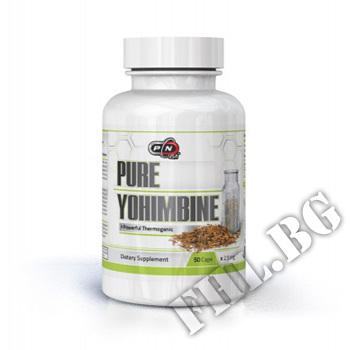 Съдържание » Цена » Прием » 100% Pure yohimbine 50 caps