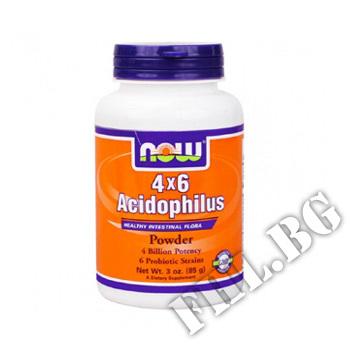Действие на Acidophilus 4 X 6 Powder  мнения.Най-ниска цена от Fhl.bg-хранителни добавки София