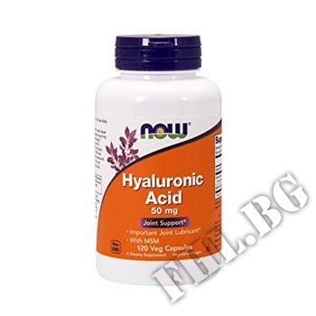 Действие на Hyaluronic Acid with MSM мнения.Най-ниска цена от Fhl.bg-хранителни добавки София