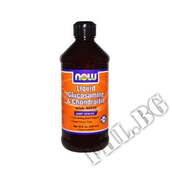 Съдържание » Цена » Прием » Glucosamine/Chondroitin/MSM liquid 475ml
